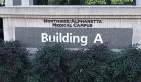 Map and directions to the Alpharetta, Roswell, Milton office of Atlanta Gastroeneterology Specialists, Dr. Bruce A. Salzberg